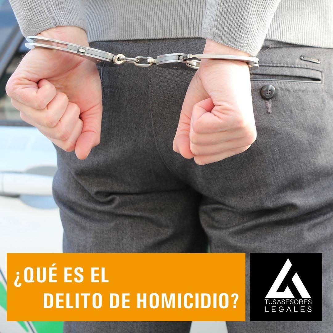 ¿Qué es el delito de homicidio?