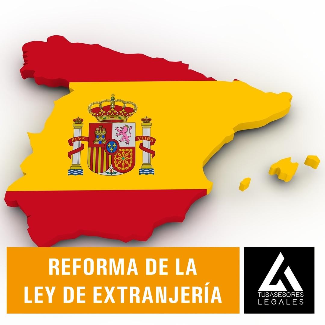 Reforma de la Ley de Extranjería